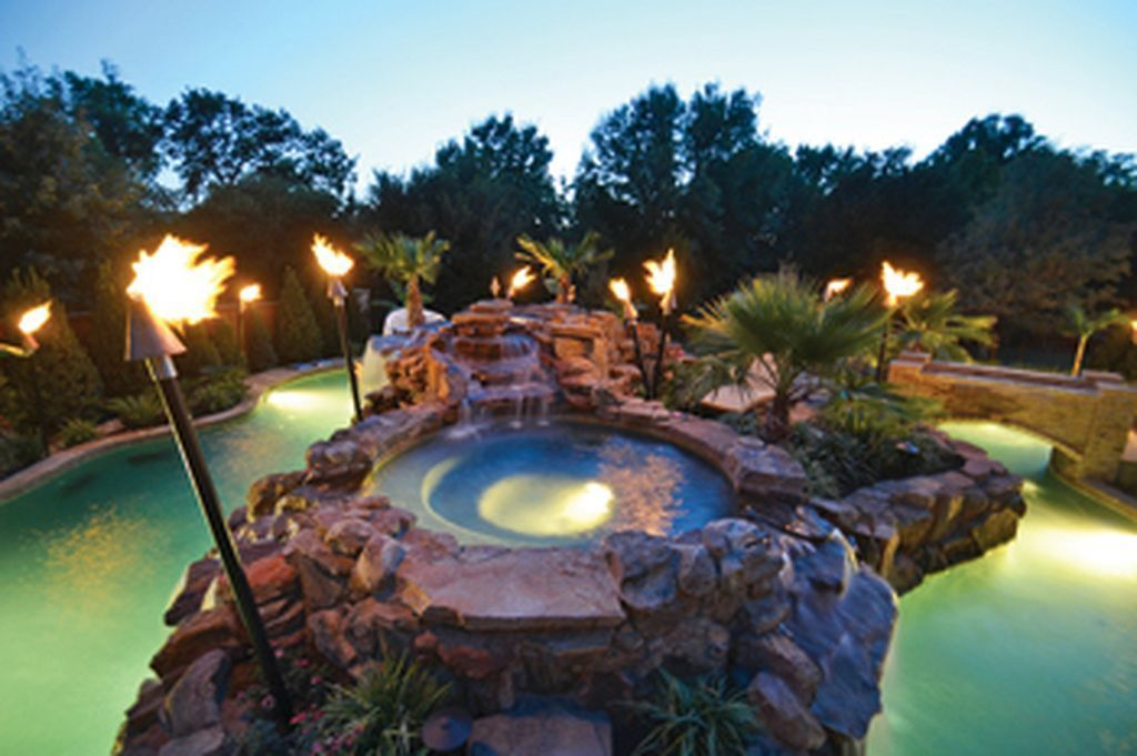 Insanely Cool Lazy River Pool Ideas In Home Backyard(30 ...