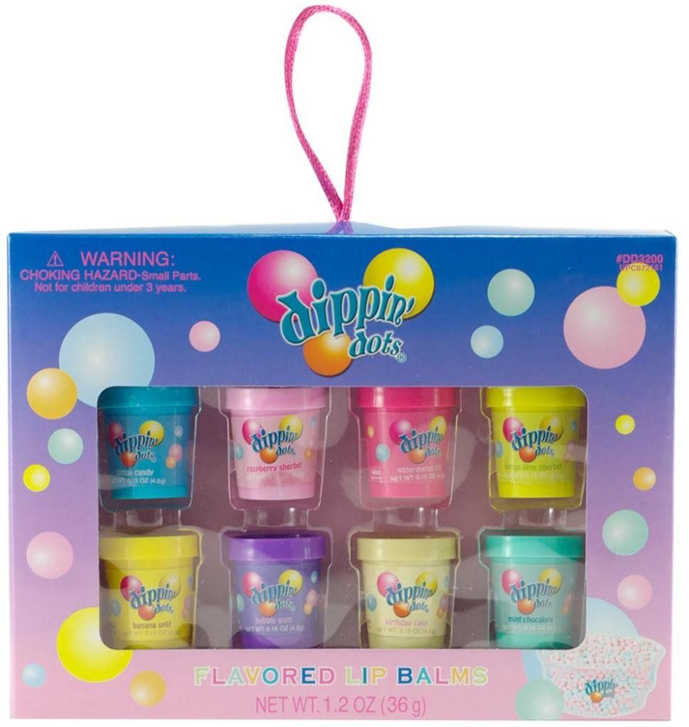 Dippin\' Dots Lip Balm Tubs 8-Packs - 48 Units   H Y G I N E ...