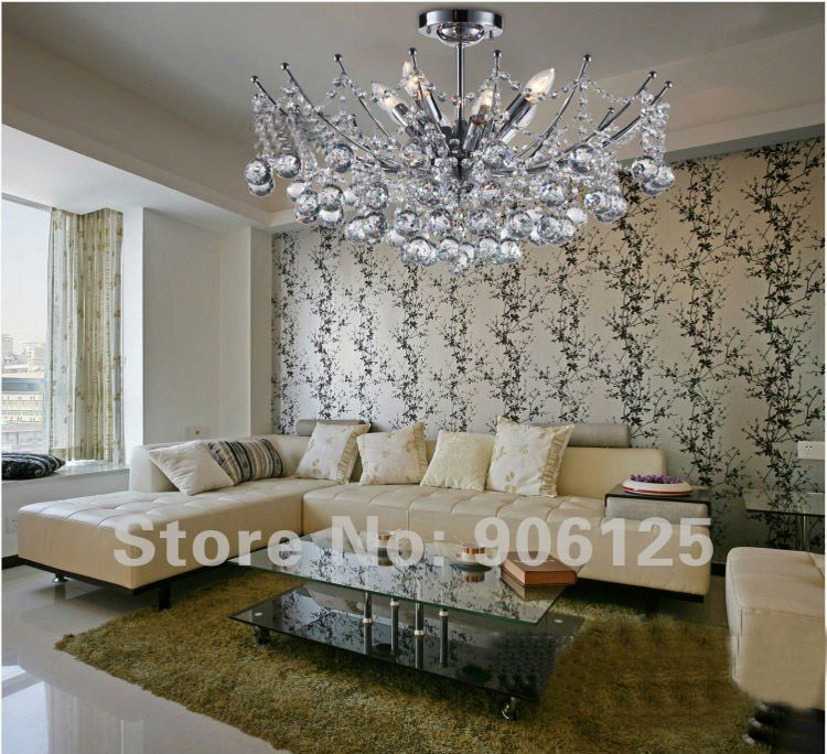 D157 empire mini crystal chandelier chrome finish 4lts w d157 empire mini crystal chandelier chrome finish 4lts w hanging kit mozeypictures Images
