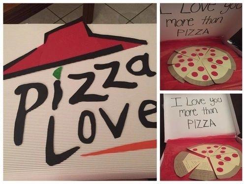 Regalos de San Valentín para parejas que se aman con locura | Pizzas ...