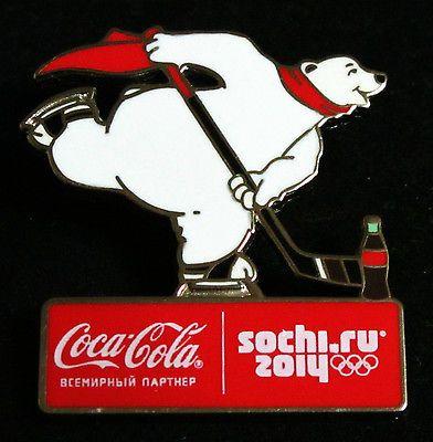 2014 Sochi Olympics Coca-Cola Pin