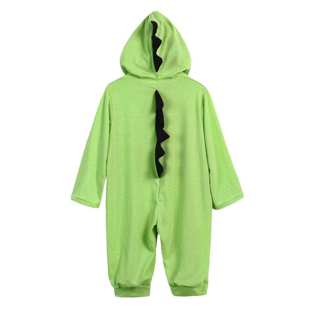 ca15f4a89 Newborn Infant Baby Boy Girl Dinosaur Hooded Romper Jumpsuit Outfits  Clothes Attention plz: If your kid is chubby, we recomend choosing a larger  size, ...