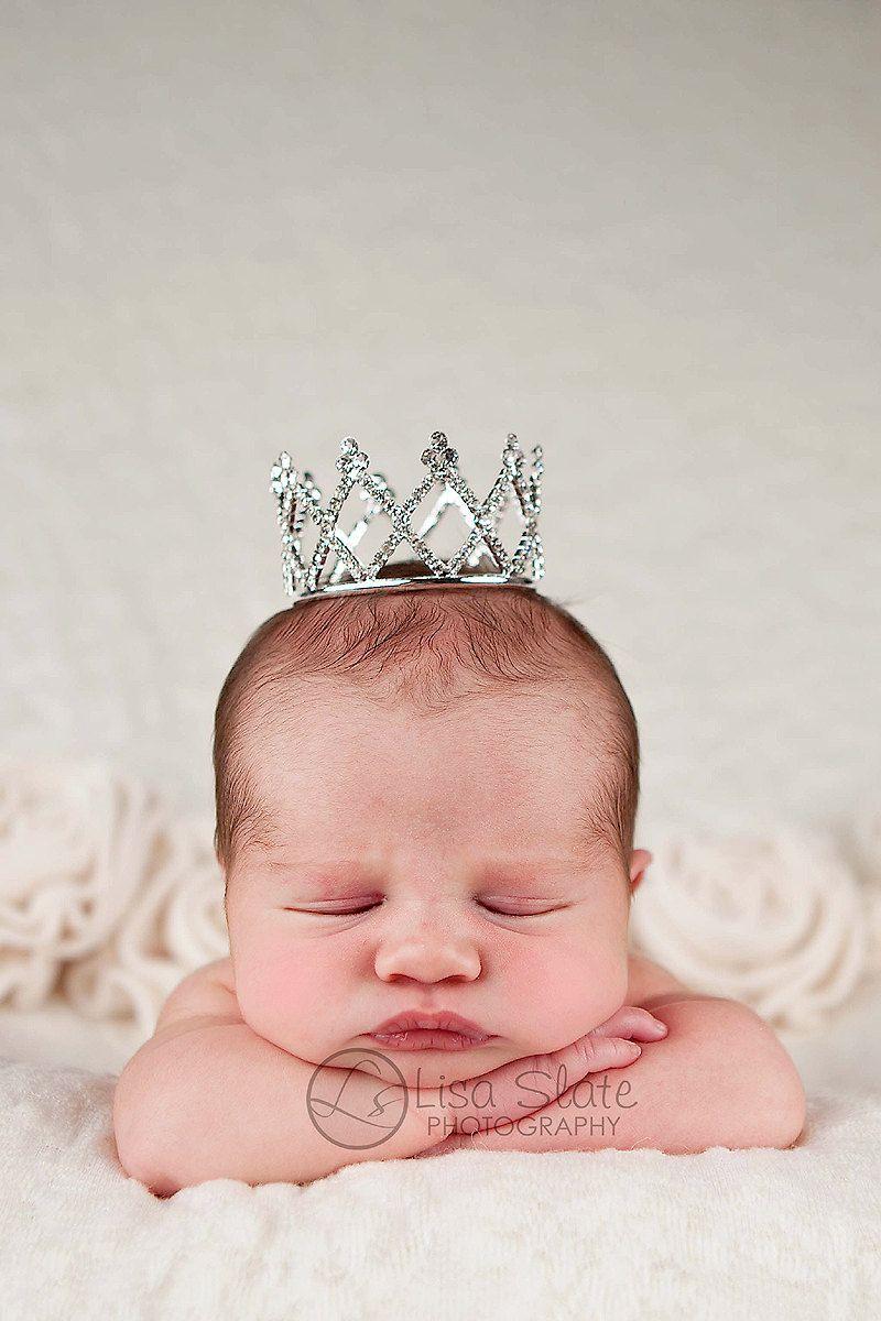 Newborn crown newborn tiara baby headband by sprinklesforsprouts 24 95