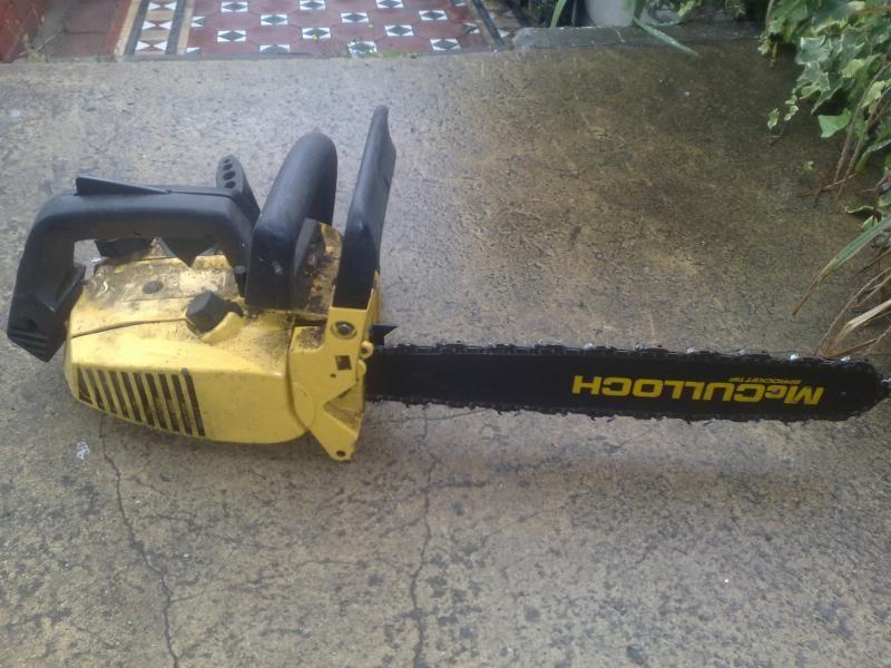 mcculloch chainsaw   Old mcculloch on ebay - Arbtalk co uk