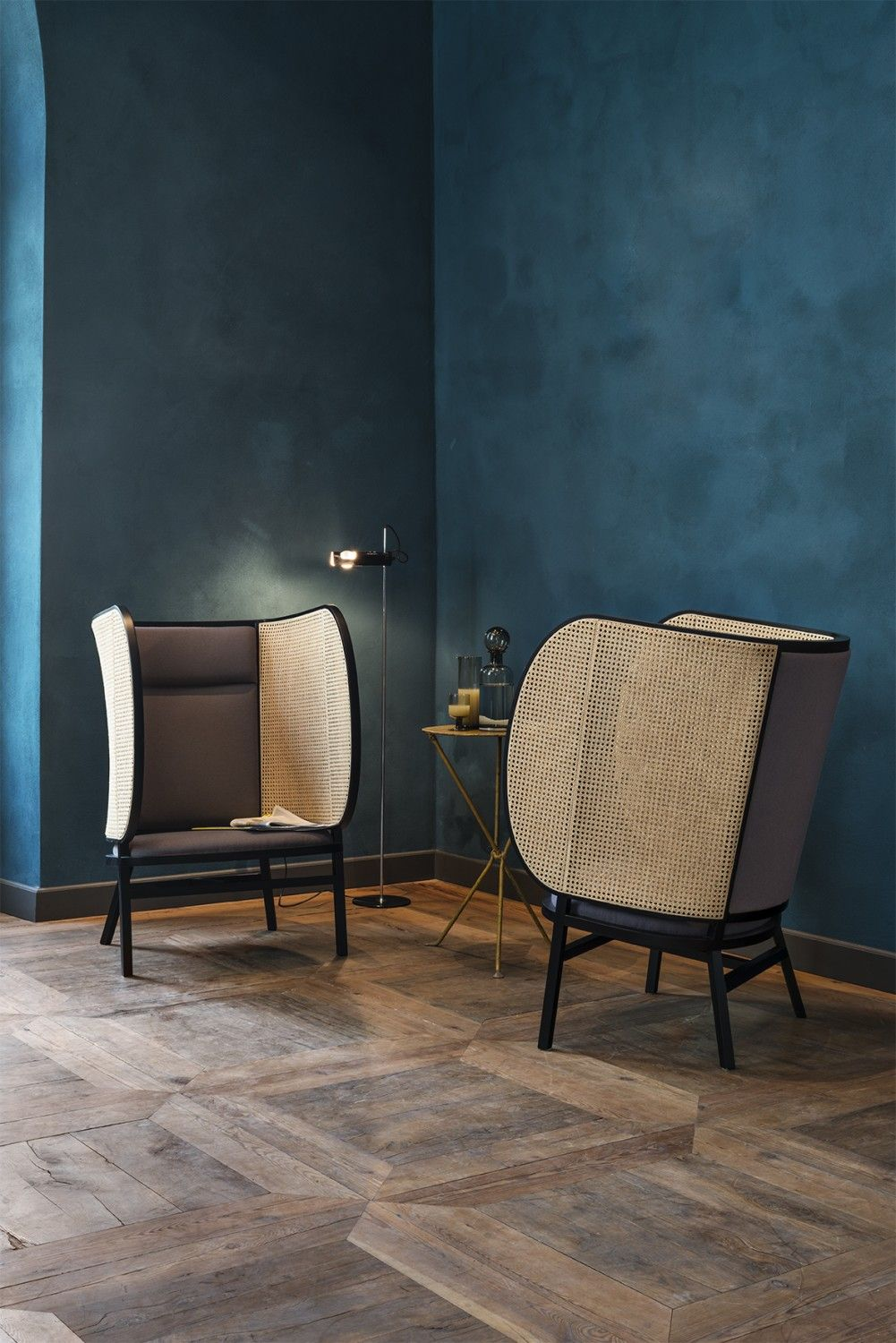 Hideout lounge chair by Swedish design trio Front for Gebrüder ...