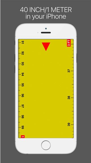 Ruler Free - tape measure length on the App Store | Tips and
