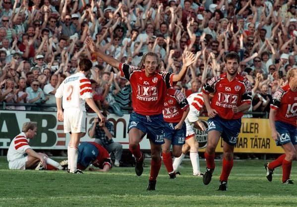 Henrik Larsson, Helsingborgs IF (1992–1993, 56 apps, 50 goals + ...