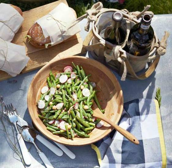 Fresh Green Bean Salad.