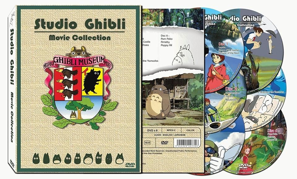 GHIBLI 17 movie Series Collection Childhood Movies That