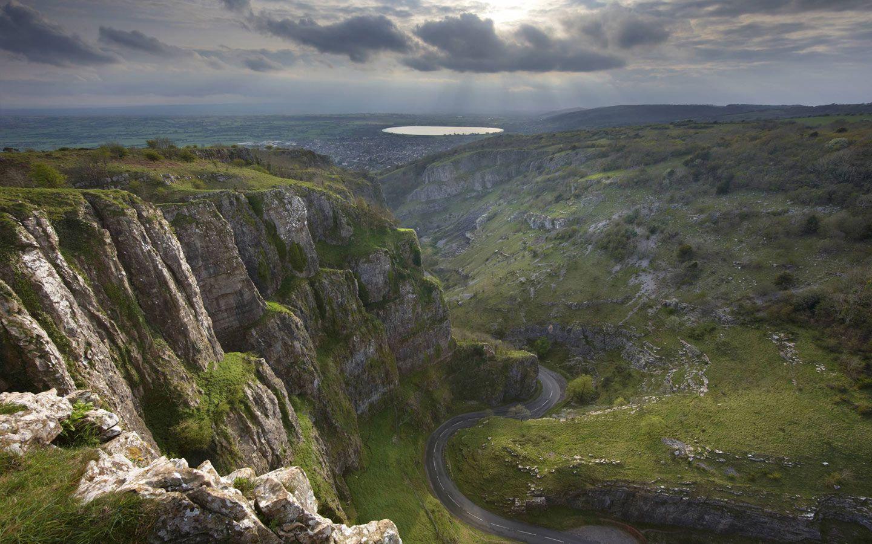 Cheddar Gorge, Devon, England
