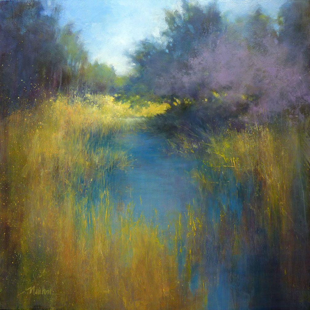 Barbara Newton Art Journal Landscape Paintings Landscape Art Abstract Landscape