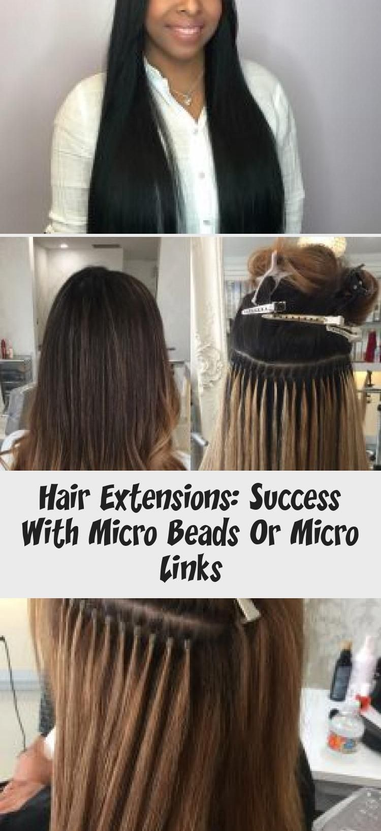 Hair Extensions Success With Micro Beads Or Micro Links
