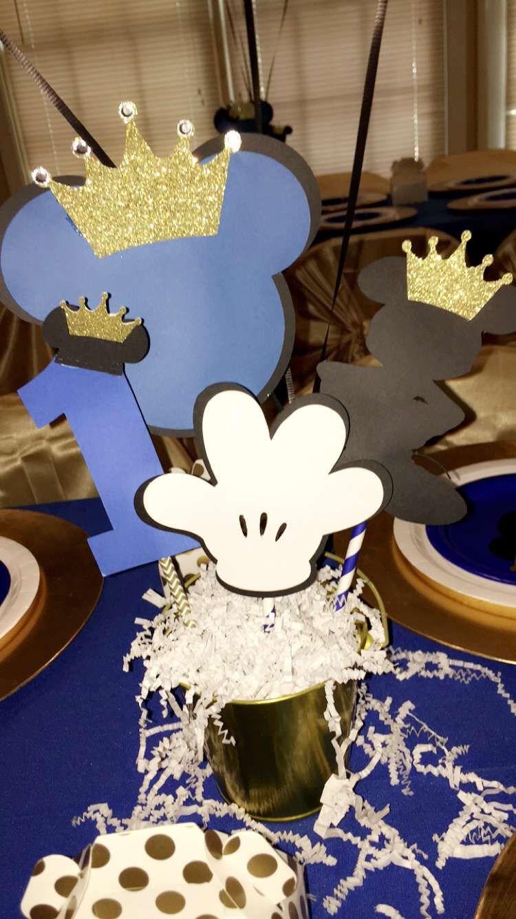 Royal Prince Mickey Babyshower Pinterest Cumpleanos Mickey