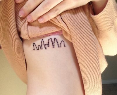 austin skyline | inked | Austin tattoo, Skyline tattoo, Austin skyline