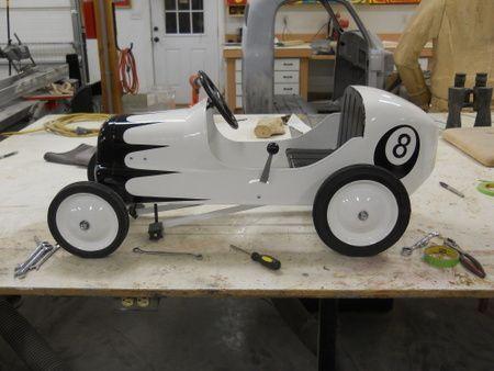 Custom Pedal Car Strollers/Wagons