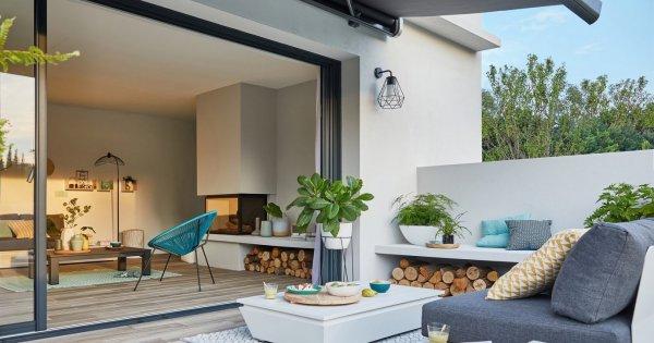 Comment nettoyer un crépi extérieur ? en 2020   Jardin de petit de balcon, Dallage, Carrelage ...