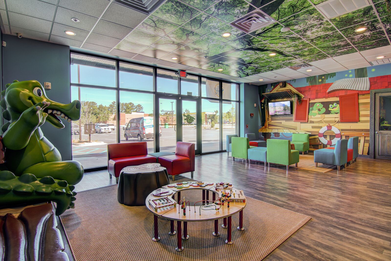 Forest Tree Top Ceiling Tiles What An Amazing View Of Our Printed Scenic