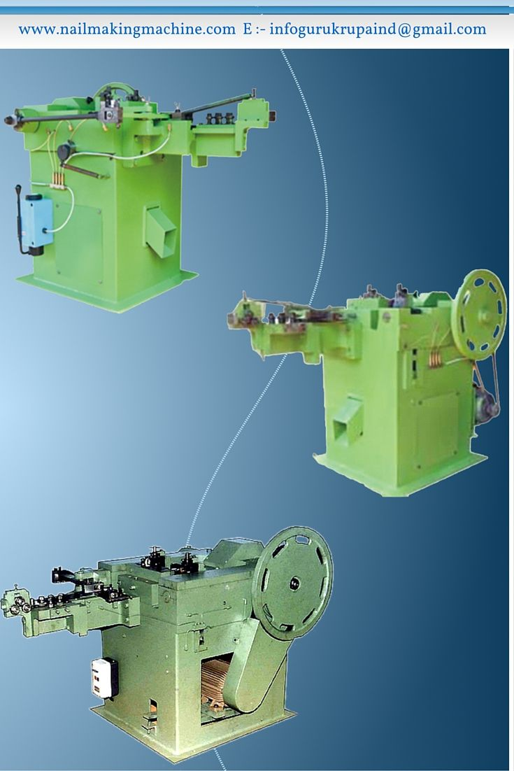 This High Speed Wire Nail Making Machines retained basic design and ...