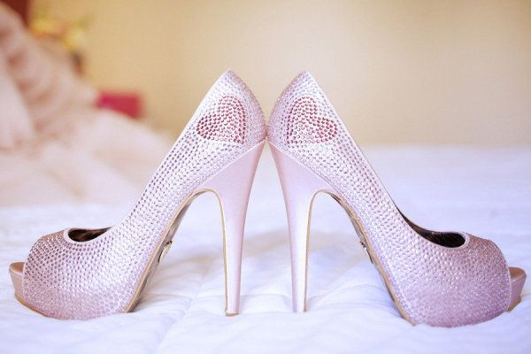 Personality-filled Betsey Johnson heels  Photography by http://freshinlove.com