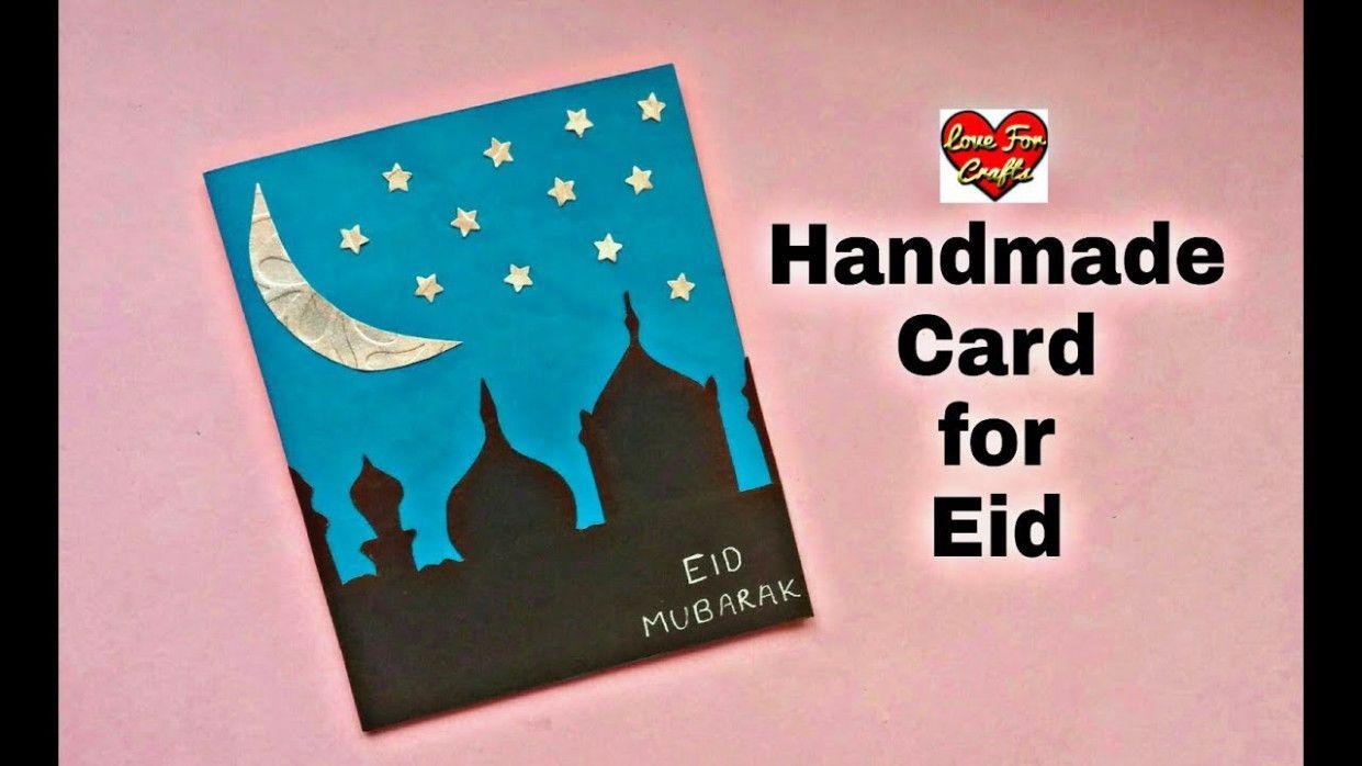 eid paper in 2020  eid greeting cards eid mubarak card
