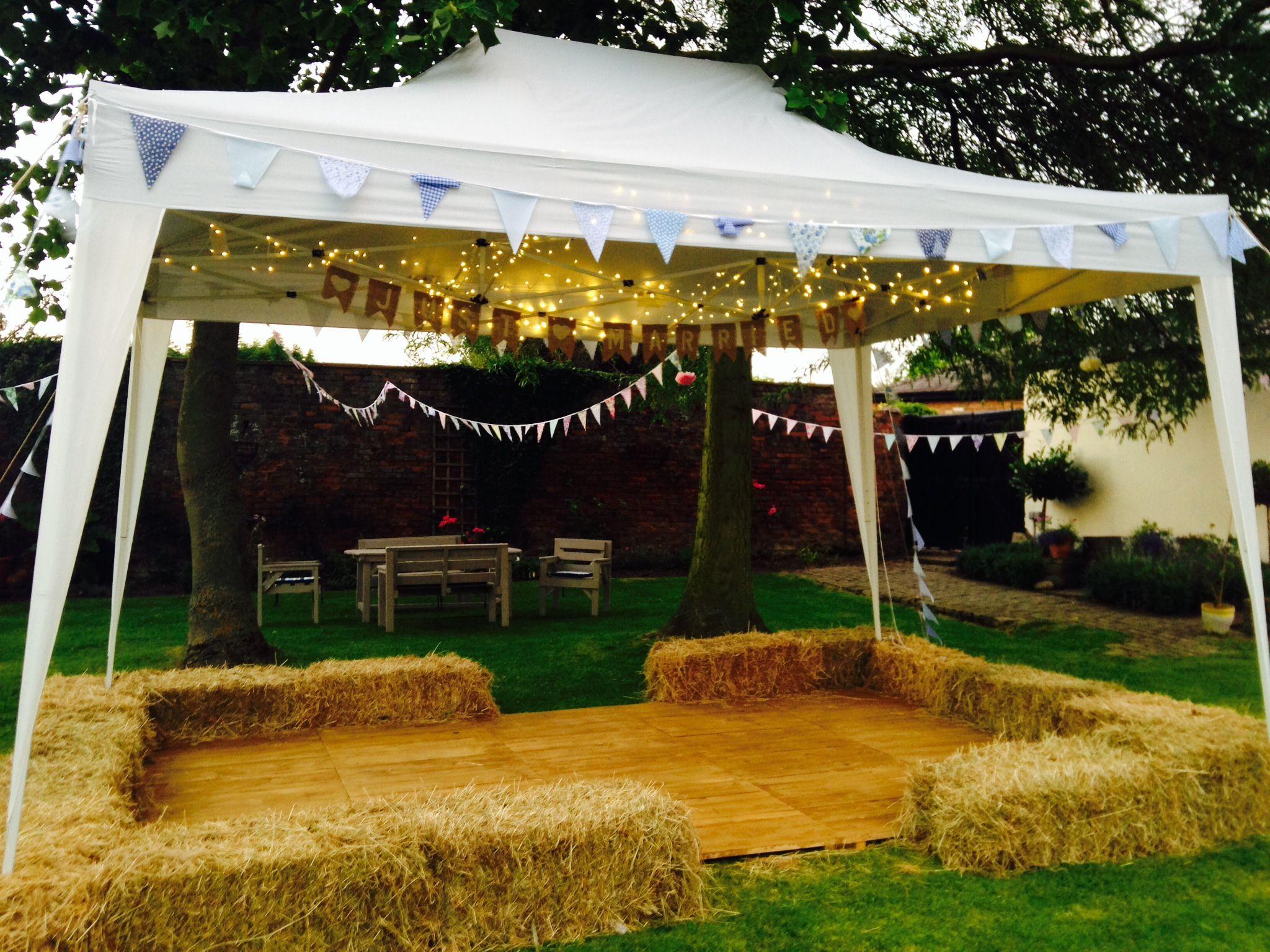 Dance Floor Hire Rustic Garden Party Dance Floor Wedding Summer Garden Party