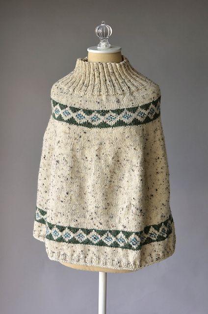 Ravelry: Almas Poncho pattern by Universal Yarn FREE | Knitting ...