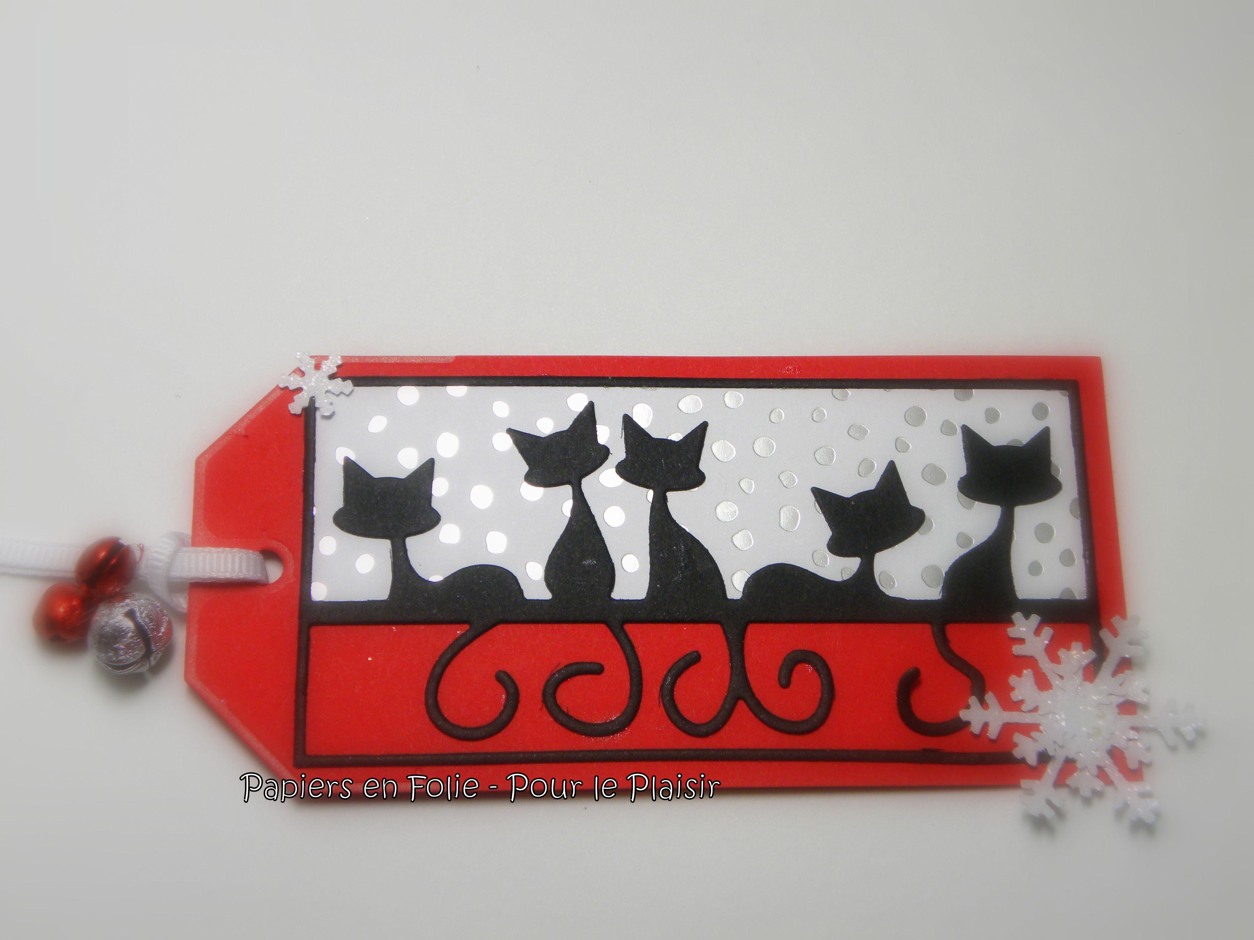 Feline die cut from Penny Black