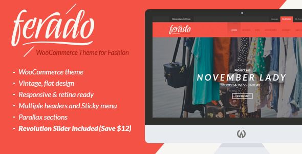 Ferado - WooCommerce Fashion Theme on ThemeForest | Envato ...