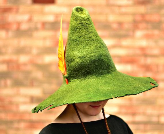 snufkin cosplay hat tattered wizard hat ragged by handicraftkate