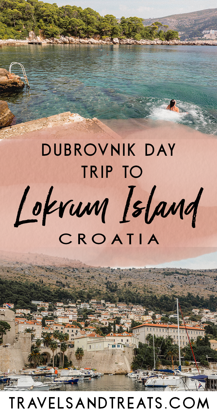 Dubrovnik Day Trip To Lokrum Island Croatia What To Do In Lokrum Island Croatia Things To Do In Dubrovnik Lokrum Island Europe Travel Eastern Europe Travel