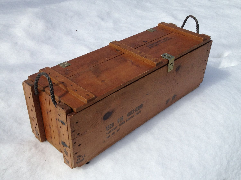 Storage Wood Ammo Box Authentic Rustic Coffee Table by jon4him26 & Storage Wood Ammo Box Authentic Rustic Coffee Table by jon4him26 ... Aboutintivar.Com