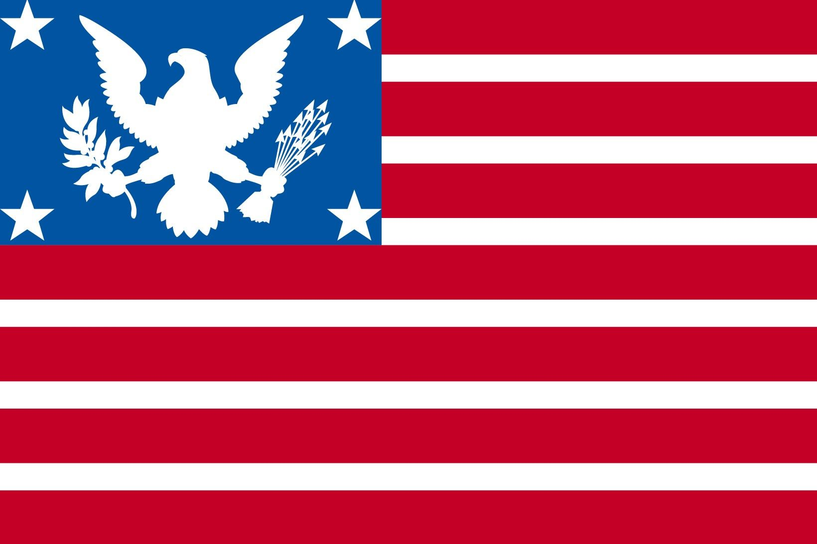 North American Union State Us States Flags American Union Flag