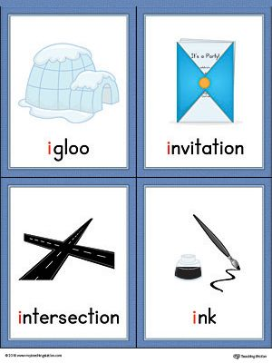 Letter i words and pictures printable cards igloo invitation letter i words and pictures printable cards igloo invitation intersection ink color worksheete letter i words and pictures printable cards can be stopboris Images