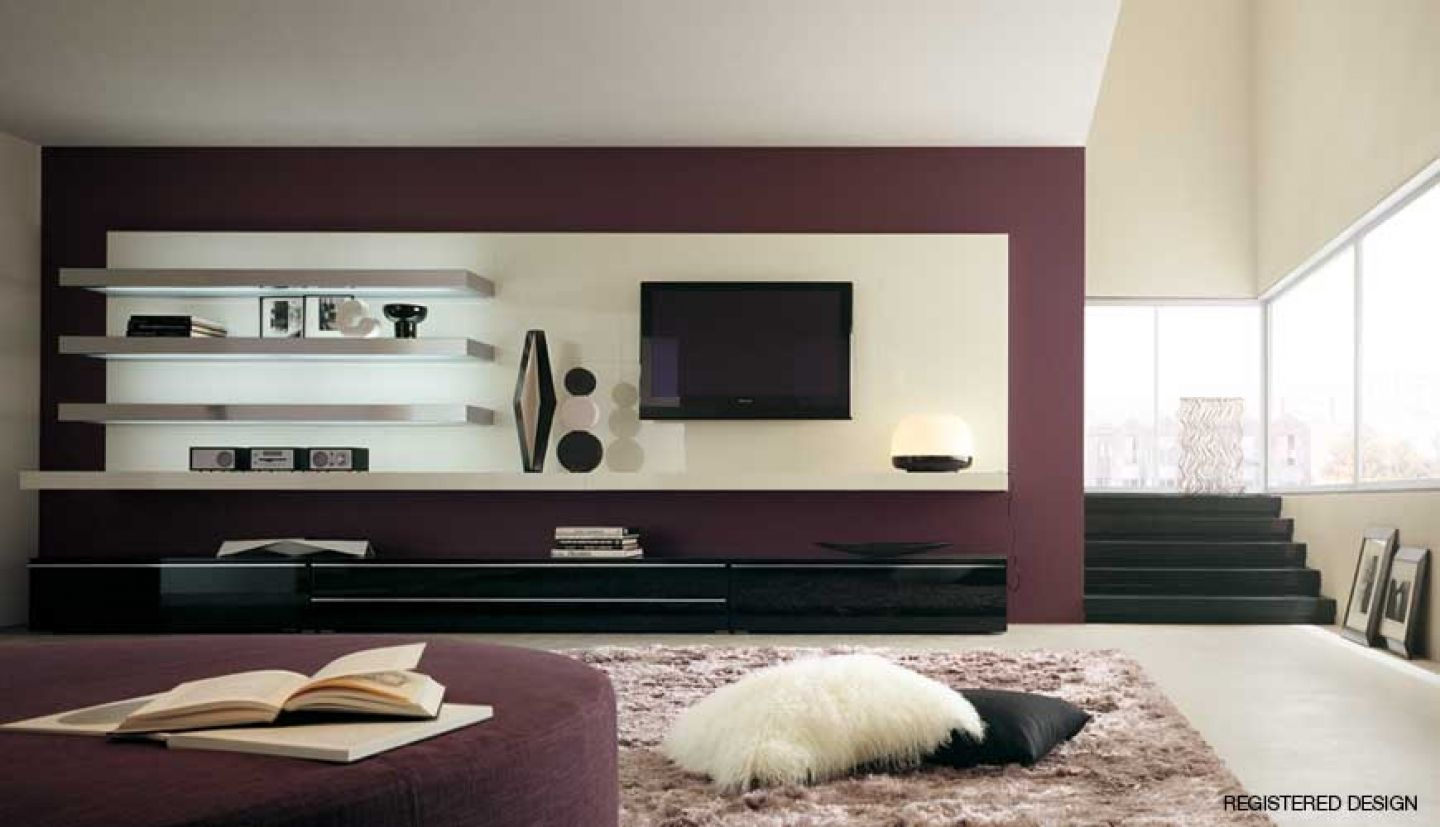 Wall Mounted Tv Units For Living Room  Httpbottomunion Awesome Design Wall Units For Living Room Design Ideas