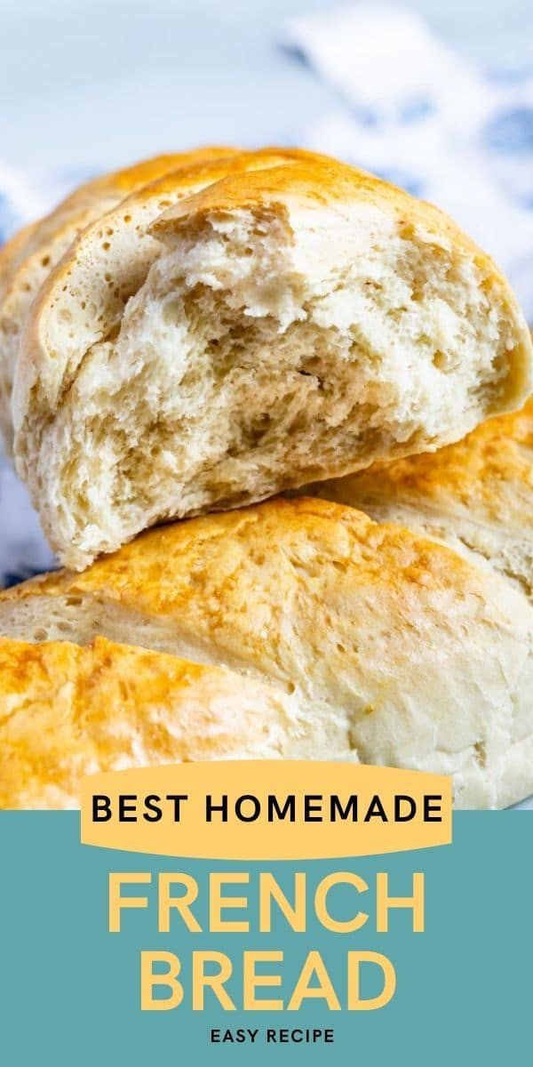Easy French Bread   Recipe in 2020 (With images ...