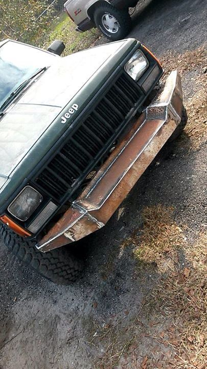 Xj Homemade Bumper Truck Bumpers Jeep Bumpers Off Road Bumpers