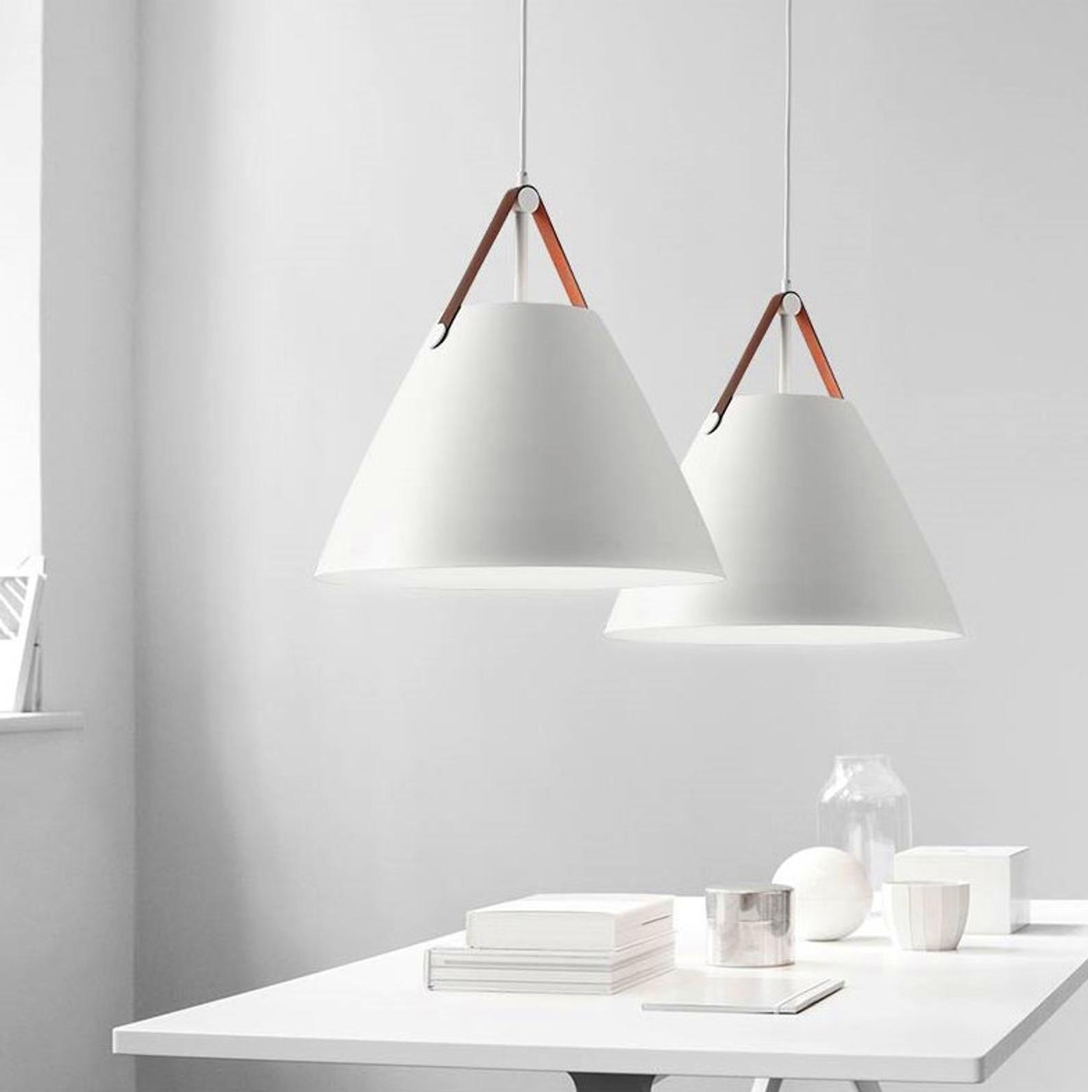 Modern Scandinavian Hanging Lamp White And Gray Pendant Etsy Scandinavian Pendant Lighting Living Room Light Fixtures Scandinavian Lamps