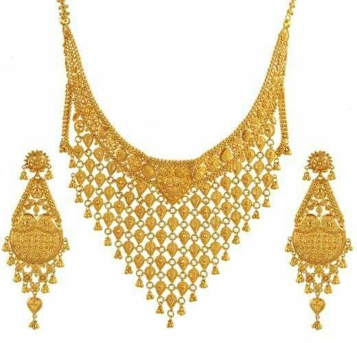 Bengali Bridal Jewellery Pakistani Gold Jewelry Bridal Jewellery Design Gold Wedding Jewelry