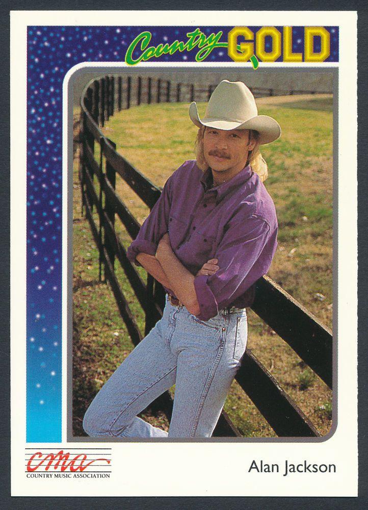 Alan Jackson 1992 Country Gold Trading Card 50 Alan Jackson