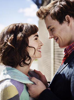 Lily Collins and Sam Claflin - new Love, Rosie promoshoot ...