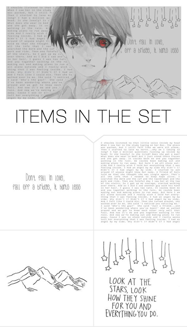 """""""Who was it, that dyed this heart black?"""" by caught-in-a-million-dreams ❤ liked on Polyvore featuring art and ciamdonethousand"""