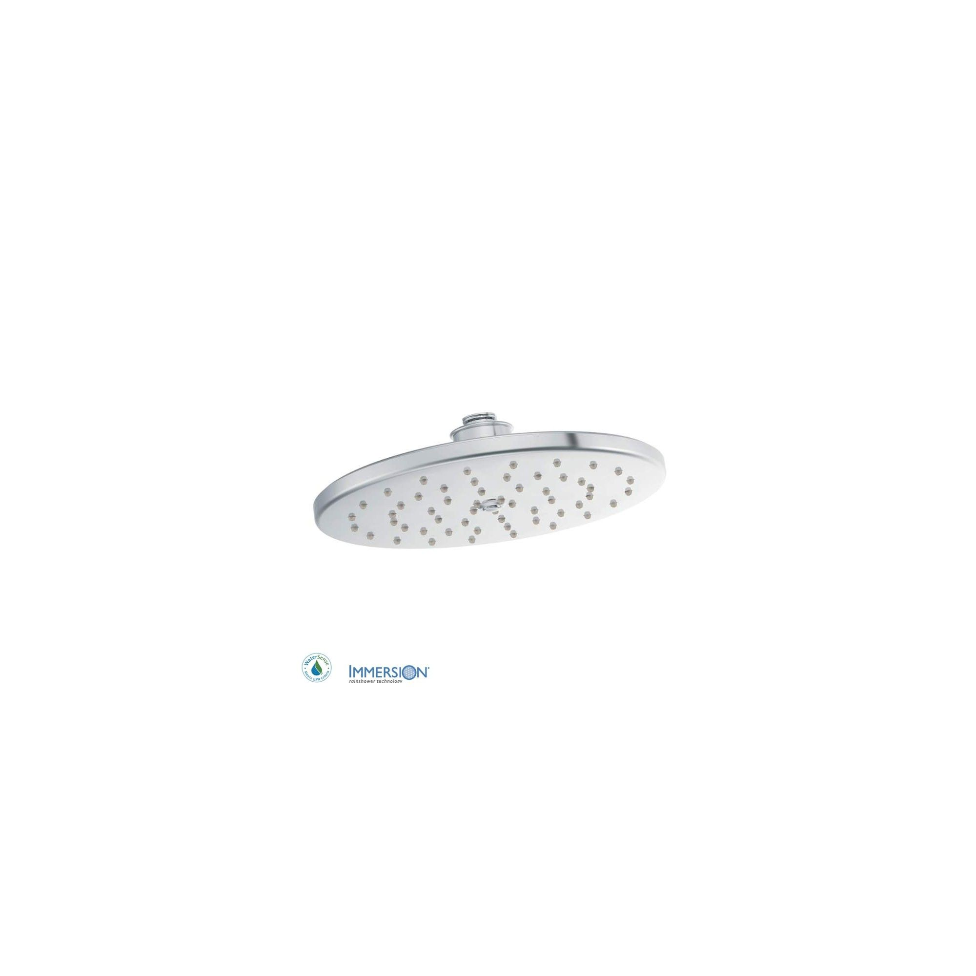 Moen S112ep 10 Rainshower Shower Head With 1 75 Gpm Flow Rate