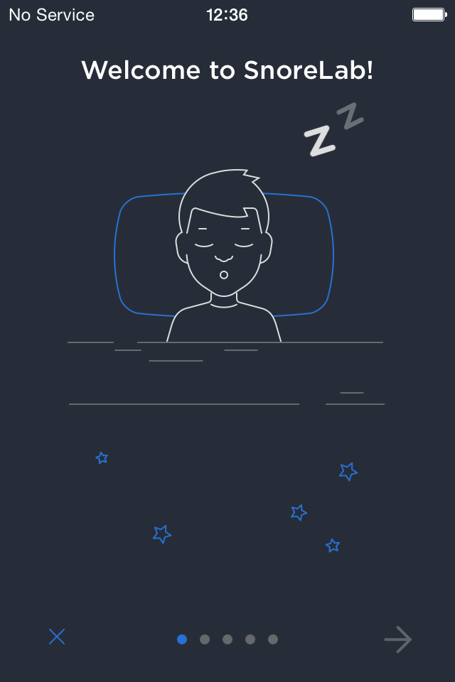 The Snoring Management App for iPhone and iPad What