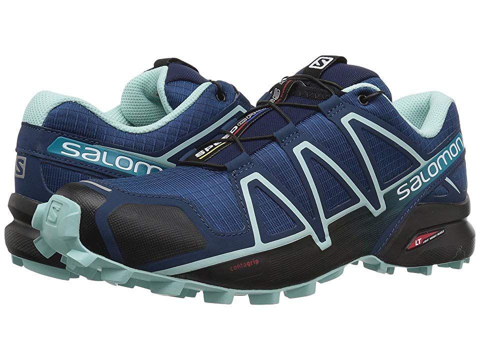 Salomon Speedcross 4 (PoseidonEggshell BlueBlack) Women's