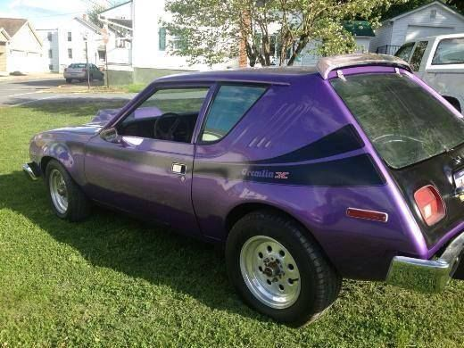 Purple Gremlin Rearend Amc Gremlin Gremlins American Motors