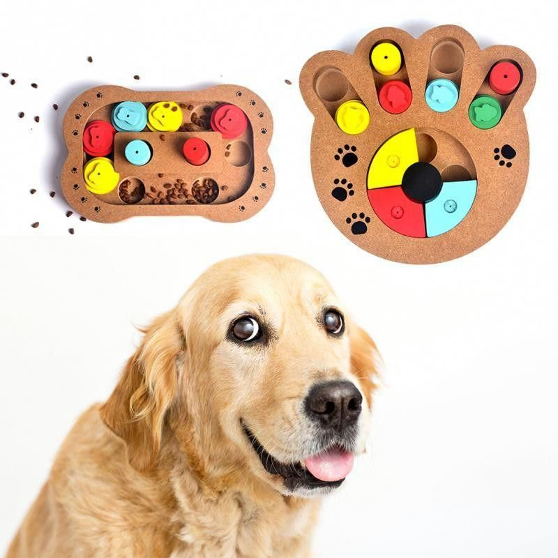 Dog Feeder Puzzle Toy Interactive Dog Toys Dog Puzzles Pet Feeder