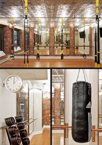 inside the training centre  home gym design gym decor