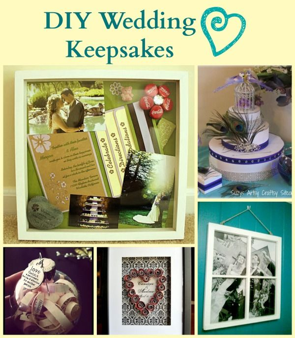 Great Ideas To Create Beautiful Keepsakes From Wedding Napkins Invitations And Photos Lots