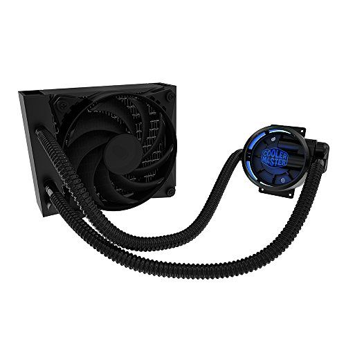 Masterliquid Pro 120 Allinone Aio Liquid Cooler With Flowop Technology Dual Chamber Design And Masterfan Pro Radi Cooler Master All In One Computer Accessories