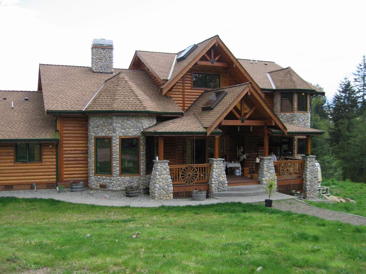 Custom Built Homes Log cabin modular homes, Modular home